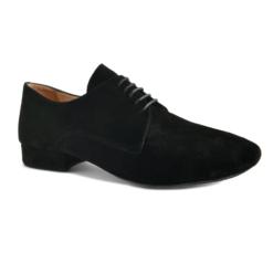 ZEPHIR daim noir, Chaussure de danses latines MERLET Homme
