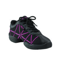 WEB DS19 Black/Pink, Sneakers de jazz CAPEZIO Enfant, WEB DS19 BLACK/PINK, Sneakers de danse jazz CAPEZIO, danceworld, bruxelles.
