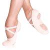 Demi-pointe de ballet SO DANCA, SD16-B, SD16-C, toile stretch, pied fin Dance World, Bruxelles