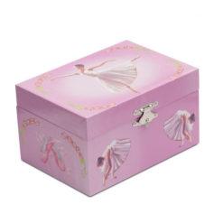 Coffret à bijoux musical KATZ Jewel Box JB28, boîte à musique, boîte à bijoux, danceworld, bruxelles.