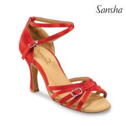 Chaussure de danse femme SANSHA ADRIANA, chaussures de danses de salon, escarpins de danse, danceworld, bruxelles.