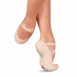 Demi-pointe de ballet SANSHA PRO1C bisemelle, danceworld, bruxelles.